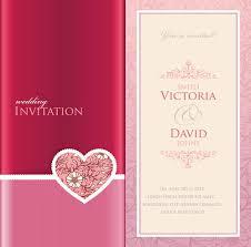 wedding card invitation wedding invitation cards vectors