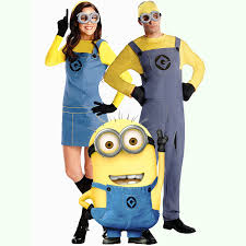 halloween costumes male parental small yellow people