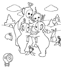 coloring pages cute teletubbies coloring pages teletubbies