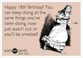 18th Birthday Meme - funny 18th birthday wishes kappit