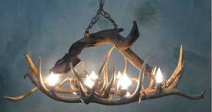 Diy Antler Chandelier Antler Chandeliers For Sale Real Mccoy
