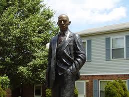 Black Flag Statue Puzzle Celebrating Black History Month