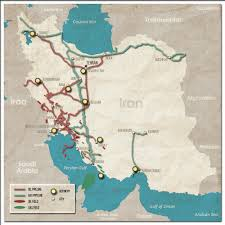 Middle East And Europe Map by The Geopolitics Of Oil And Gas Pipelines In The Middle East