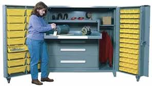 Modular Drawer Cabinet 1102 Lyon All Welded Cabinet With Modular Drawers And Tilt Bins