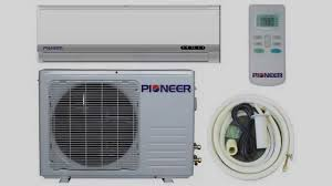 ductless mini split pioneer ductless mini split air conditioner youtube