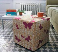 how to make a round ottoman cover not only does she show you how
