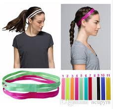 elastic headbands 2017 headbands elastic headband softball anti slip