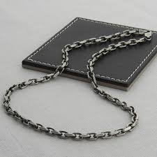 chain necklace style images Men 39 s sterling silver anchor chain style necklace hurleyburley jpg