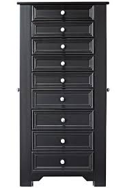 stores that sell jewelry armoire amazon com oxford lift top jewelry armoire with eight drawers and