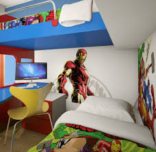 iron man superhero bedroom ideas wall decal and bedding bunk bed