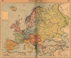 Europe Map Ww1 by Maps A Map Of Europe Before Ww1