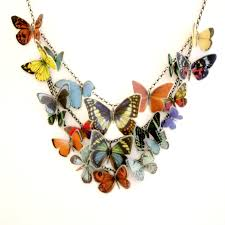 scottish jewellery designers multi butterfly necklace contemporary necklaces pendants by