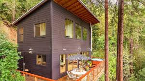 russian river cabin mid century modern cabin youtube