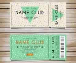 doc 600420 christmas party tickets templates u2013 ticket invitation