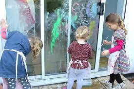 Thanksgiving Window Paintings Diy Window Paint Recipe The Imagination Tree
