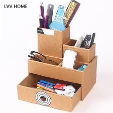 boite de rangement papier bureau lvv maison papier de bureau tiroir boîte de rangement creative kraft