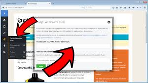 google webmaster tools compila png copy the code on alterpages