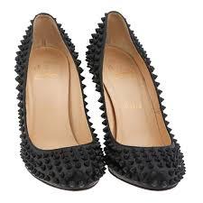 inseller women heels christian louboutin fifi spikes 100mm pumps
