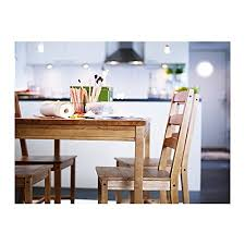 Ikea Dining Room Table And Chairs Amazon Com Ikea Table And 4 Chairs Antique Stain Solid Pine