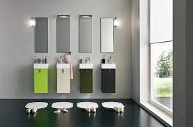 modern bathroom vanity lighting ideas black porcelain futuristic