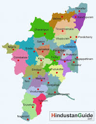 tamil nadu map map of tamilnadu districtwise tamilnadu map pilgrimage centres
