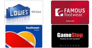 digital gift cards 100 lowe s egift card only 90 100 southwest airlines egift