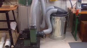dust collection system in my basement workshop the lureboratory