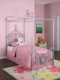 girls toddler bed with canopy bedroom design cute pink full size canopy bed for girls