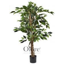 artificial ficus tree premium green 3ft indoor artificial tree