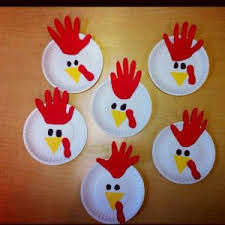 new year plates 2017 new year kids activities and rooster crafts rooster