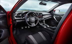 2017 honda civic si coupe and civic si sedan go turbo