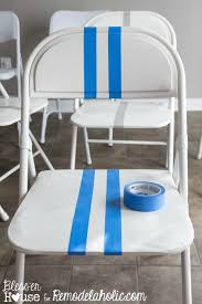 best 25 folding chair makeover ideas on pinterest painted