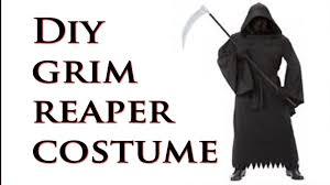 Grim Reaper Costume Diy How To Make A Grim Reaper Costume Youtube