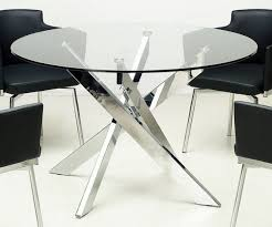 Glass Dining Room Table And Chairs Pristine X Stretcher Black Scheme Round Table Designs Furniture