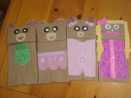 nat mac u0027s knick knacks at home drive in and paper bag puppets