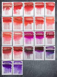 diamine red and purple inks test fountain pen inks u0026 bleach