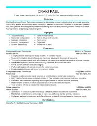 Maintenance Technician Resume Sample by Facilities Maintenance Technician Resume Sample Corpedo Com