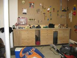 garage workbench how to build workbench withawers best house