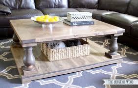 Restoration Hardware Coffee Table Gorgeous Balustrade Coffee Table Diy Restoration Hardware Coffee