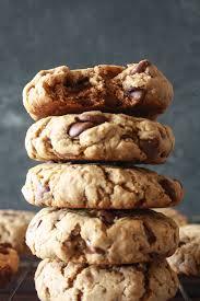 buckwheat chocolate chip cookies eggless u0026 gluten free