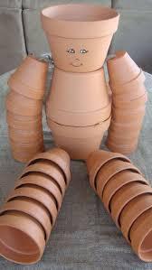 Decorating Clay Pots Kids 95 Best Pot People Images On Pinterest Clay Pot Crafts Flower