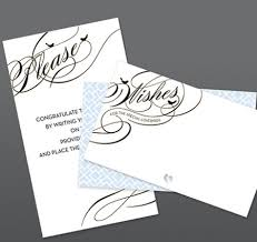 wedding wish card wedding invitation ideas and then some gayweddings