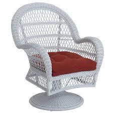 Swivel Rocker Chair Santa Barbara White Swivel Rocking Chair Pier 1 Imports