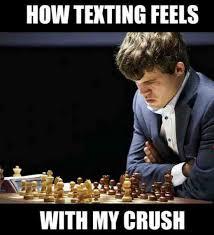 Secret Crush Meme - how texting feels with my crush weknowmemes