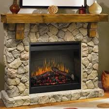 Indoor Electric Fireplace Dimplex Fieldstone Indoor Electric Fireplace Package