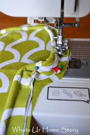 How To Make A Cushion With Zip How To Sew A Seat Cushion With Piping Whats Ur Home Story