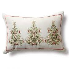ribbon tree pillow and table runner lillian vernon