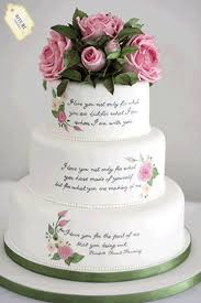 wedding cake quotes literary themed wedding cake handpainted with the couples