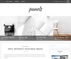 panels blog wordpress theme wordpress template blog templates