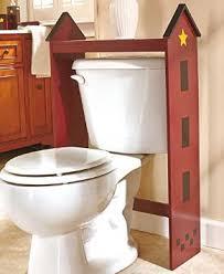 Buy Primitive Farmhouse Over the Toilet Table Country Bathroom